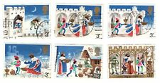 GB Stamps SG943-948 1973 Christmas. Multicoloured Used