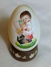 Anri 1979 Annual Egg, second in series by Ferrandiz, style 624376
