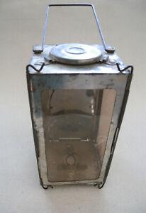 Alte originalle Faltlaterne Lampe Leuchte Schweizer Armee Prewar