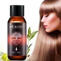 Pure Argan Oil Hair Care Nourish Scalp Treatment Smooth Damaged Dry Repair Hair