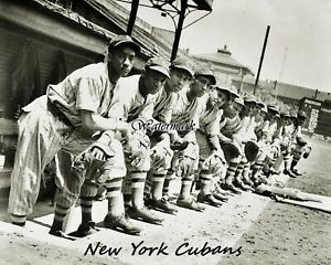 1940's Negro League New York Cubans at Forbes Field 8 X 10 Photo Picture