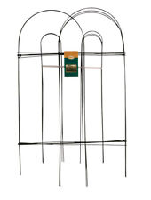 Panacea  10 ft. L x 32 in. H PVC  Green  Garden Fence