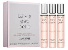 Lancôme La Vie Est Belle Eau De Parfum Purse Spray 3x18ml New Boxed