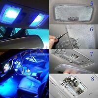 BLUE LED Interior Light Kit Fits Ford Falcon FG XR6 XR8 SEDAN  2013