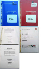 EMT 277 or EMT 460 or Bedas or EMT 986 or EMT 445 Original Instruction Manual
