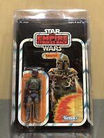 Vintage Kenner Star Wars 1979 Boba Fett Blaster Custom Repro 21 Cardback