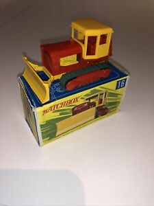 MATCHBOX No 16 Case Tractor, Mint, Boxed,