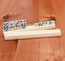 Wooden Domino Holder /  Rack / Set of two
