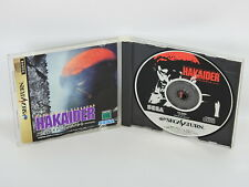 HAKAIDER Mechanical Violator REF ccc Sega Saturn ss