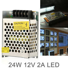 12V 2A 24W LED Strip Light Drive Switching Power Supply SMPS Source Transformer