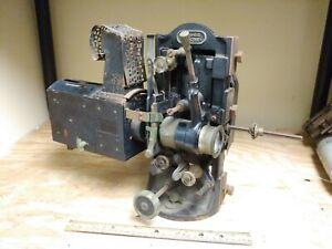 Antique 35mm Motion Picture Movie ICA Monopol Projector Germany