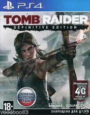 Tomb Raider: Definitive Edition (PS4) En,Russian,Deutsch,italiano,Polski,French