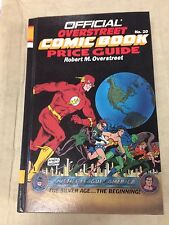 1990 Official Overstreet Comic Book Price Guide #20 Justice League hard cover