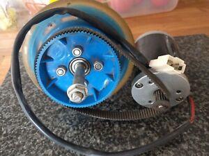 6812-24V Micro Motor 24v 120w DC Motor and drive wheeland belt