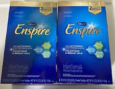 Enfamil Enspire Baby Formula Milk Powder Refill Set of 2 41oz. Boxes Free Ship!