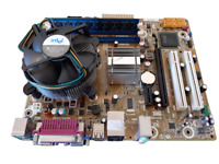 INTEL DG41WV, Core 2 Duo E8400, 4GB DDR3 CPU + FAN RAM MOTHERBOARD COMBO BUNDLE