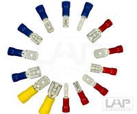 Flachstecker Flachsteckhülsen 0,5 - 6 mm² Kabelschuh Steckverbinder DIN Hülse