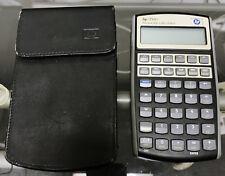 Hewlett Packard HP 17bII+ Financial Calculator with Case