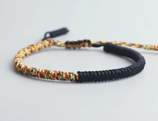 Buddha Karma Handgemachtes Buddhistisch Tibet Feng Shui Seil Armband Armbänder