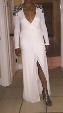 White Goddess Bcbg Gown