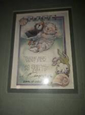 """RARE"" FRIENDS JODY BERGSMA 1984 Signed Numbered Print"