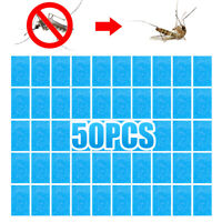 50Pcs Blue Mosquito Repellent Tablet Insect Killer No Toxic Pest Bite Mat Tablet