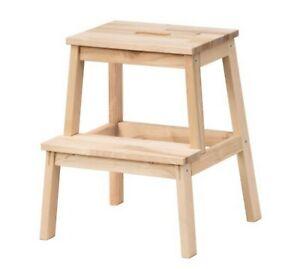 Desk chair BEKVAM IKEA Wooden Step stool