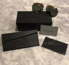 NEW WITH TAGS Authentic Dior Split1 Mirror Aviator Sunglasses + All Accessories