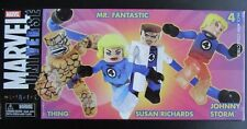 MARVEL UNIVERSE MINIMATES 4 PACK~MR FANTASTIC~THING~JOHNNY STORM~SUSAN RICHARDS