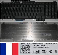 Clavier Azerty Français Dell Inspiron 1720 0YR814 NSK-D820F Noir