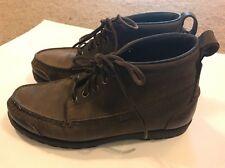 RJ Colt Men's Suede Lace up Ankle Boots Brown Size 7 M