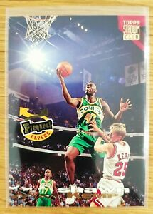 SHAWN KEMP Frequent Flyers Topps Stadium Club 1993-94 PACK FRESH