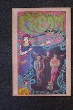 Cream Tour Poster Saville Theater 1967
