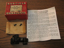 Redfield No. 102L Receiver Peep Sight for Savage model 99, 1899, New Old Stock!