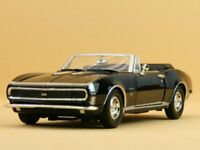 CHEVROLET Camaro SS - 1967 - black - MotorMax 1:24