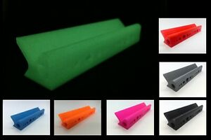 Wave Form 3D Printed Designer Table Rolling Paper V Block Stand Glow or colour