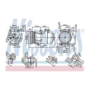 Fits Volvo V50 MW 2.0 D Genuine OE Quality Nissens A/C Air Con Compressor