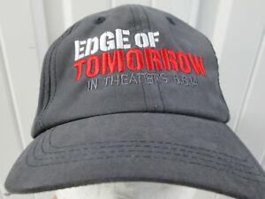 VINTAGE EDGE OF TOMORROW 6.6.2014 MOVIE PROMO STRAPBACK HAT CAP TOM CRUISE NWT
