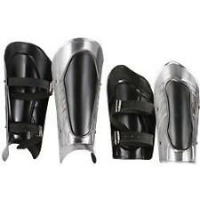 MEDIEVAL GOTHIC FANTASY Steel GREAVES Leg Guard VAMBRACE Arm Bracer ARMOR Set