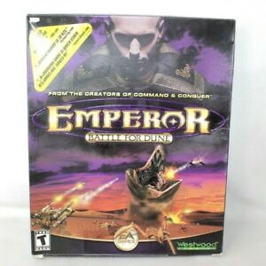 Emperor Battle for Dune PC Big Box Game 2001 EA Westwood ** Empty Box Only