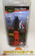 Outdoor Edge Flip N' Blaze Double Blade-Knife & Sheath-FZB-20C