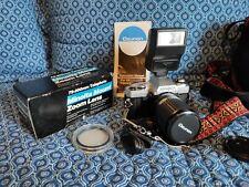 Minolta X-370 35mm SLR Camera with Bag extra lens