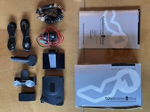 Valentine One Radar Detector Gen 1 w/ Concealed Display, Power Adapters, Cables