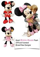 """Official Extra Large Minnie Mouse Plush Soft Toy Gift 30"""" 77cm"""