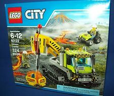 LEGO City 60122 VOLCANO CRAWLER ATV 324 pcs 3 mini figs New Sealed