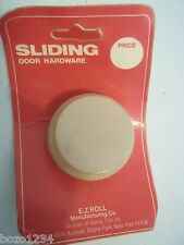 "BNIP NOS SLIDING DOOR HARDWARE E.Z.ROLL MFG. BROOKLYN NY 1 3/4"" RECESSED IN DOOR"