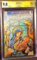 BABYTEETH #1 CGC SS 9.8 LENTICULAR VARIANT DONNY CATES ANTICHRIST AFTERSHOCK