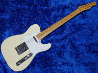 Fender Japan Telecaster TL-40 O serial White 150130