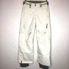 Bonfire Aura Womens Size Extra Small Snowboarding Snow Pants White XS