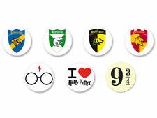 Lot Pack Badge Button Ø25mm Harry Potter Ron Hermione Poudlard Voldemort Sorcier
